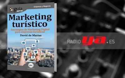 David de Matías con su «GuíaBurros: Marketing Turístico» en «Colaborum», en RadioYa